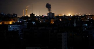 Israel pummels Gaza with airstrikes