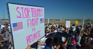 Protests hit mass detention of immigrant children in Texas tent camp