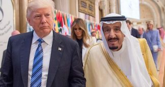 Trump says he told Saudi's King Salman that the ruler wouldn't last without US support