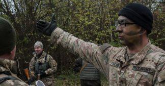 L'armée ukrainienne à l'école américaine
