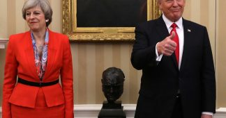 United Kingdom Trump weakens May's hand, says Brexit deal 'good for EU'