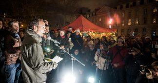 Intervention de Frédéric Lordon jeudi soir, 29 novembre, place de la République