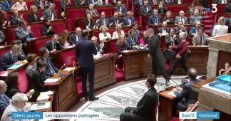 """""""Gilets jaunes"""" : Wauquiez et Le Pen appellent à un retour au calme"""