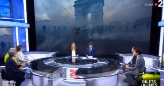 Gilets Jaunes : L'Émission spéciale de France 2 le 02/12/2018