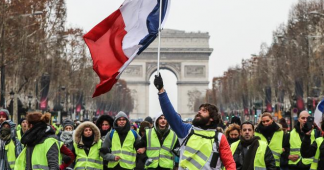 France October 2019 : Yellow Vests and the Social Movement