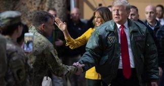 Trump stages visit to Iraq amid mounting crisis over Syria troop withdrawal
