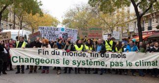 Marche pour le climat et gilets jaunes: quand fin du mois et fin du monde se rejoignent