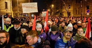 Anti-government protests continue in Hungary