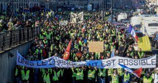 Les Gilets Jaunes à Bordeaux le 5 janvier 2019
