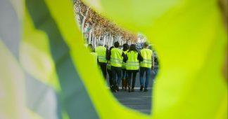 Manifestation à Paris des Gilets jaunes