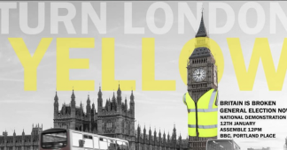 Thousands to gather in London to call for a general election