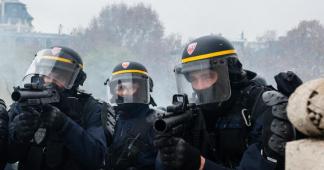 Collecte de Désarmons-les! pour les blessé-es par des armes de police