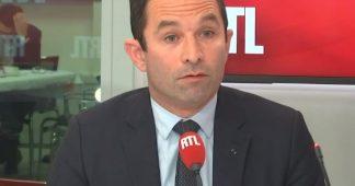 """""""Fasciné"""" par Drouet, Mélenchon """"a quitté les rives de la gauche"""", selon Hamon"""