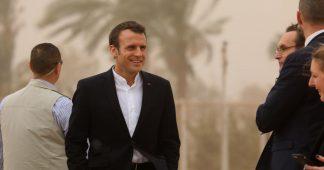 """Macron rend visite a la dictature pro-israelienne de Sissi – """"Je marche sur la glace"""""""