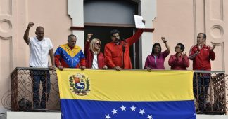US organized Coup d'état in Venezuela. They threaten Caracas with invasion