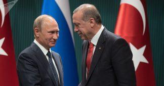 Putin – Erdogan meeting in Moscow