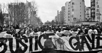 Marche commémorative pour Gaye Camara