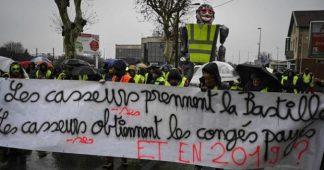 Acte XII. Manifestation massive à Valence dans une ville bouclée par la police