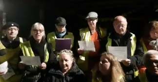 Yellow vests of Commercy against racism, antisemitism and all forms of persecution