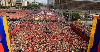 Main stream world media did not see this demonstration for Maduro (2.2.18)