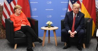 Most Germans see relations with US as 'negative,' while less than 2% name Russia as threat