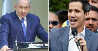 Guaido, citing Holocaust, thanks Netanyahu for recognition