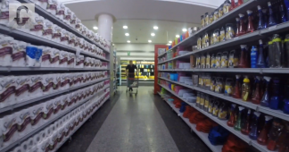 Where are the 'empty shelves'? Max Blumenthal tours Caracas supermarket