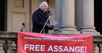 John Pilger speech to Free Assange rally in Sydney