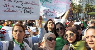 Algerian protesters say, 'We need to get rid of the system'