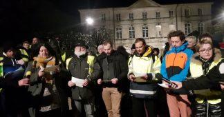 Le 4ème appel des gilets jaunes de Commercy à raviver l'esprit du 17 novembre, tous ensemble!
