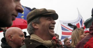 Nigel Farage begins 435km march against 'Brexit betrayal', but admits he won't actually finish it