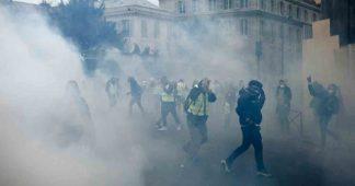Μarqueurs chimiques et nano-particules sur des manifestants