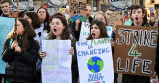 School strikes for climate around the world
