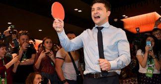 Comic rumored to be Jewish heads to runoff for Ukraine presidency