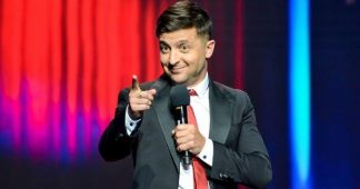 Comedian Crushes Ukrainian Presidential Contenders In Exit Polls