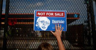 Berniecrats feeling burned as Sanders keeps mum on Assange's arrest