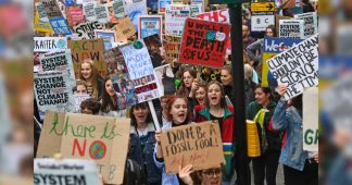 Thousands of students warn May to act on climate change