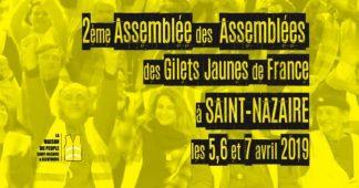Propositions – 2ème Assemblée des Assemblée des Gilets Jaunes