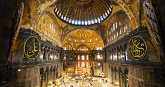 A symbol of civilizations: Hagia Sophia