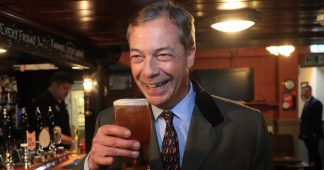 Blow for Tories and Labour as Nigel Farage's Brexit Party takes EU elections poll lead