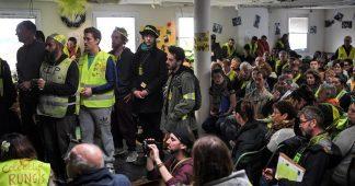 L'«Assemblée des assemblées» des Gilets jaunes se réunit à Saint-Nazaire pour la deuxième fois