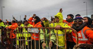 """Dockers en lutte au port de Setúbal : le Portugal est le """"Wild West"""" en matière de relations de travail"""