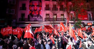 Spain's socialists regaining ground as rising right-wing party bites off chunk of disgruntled voters