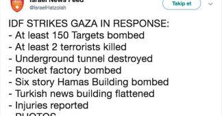 Israeli media tweet proves Anadolu attack deliberate