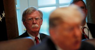 Trump: If it was up to John Bolton we'd be fighting WHOLE WORLD at once
