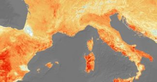 Good morning Climatic Change! Europe is boiling