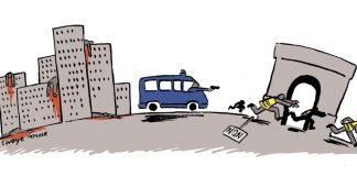 Matraques jaunes et police des cités