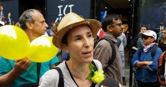Les gilets jaunes au défilé du 14 juillet sur les Champs-Elysées