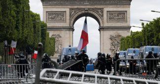 July 14th: People boo Macron