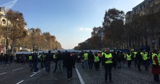 Yellow Vests Gather for 42nd Week of Protests in Paris